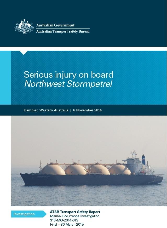 AMSA serious injury - Maritime Cyprus