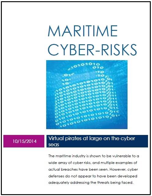 Maritime cyber risks