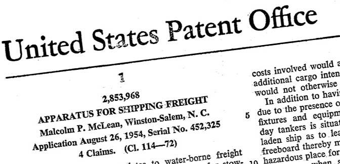 container patent