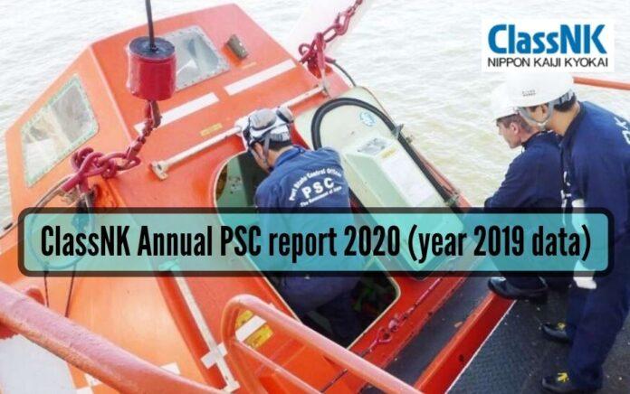 ClassNK annual PSC report