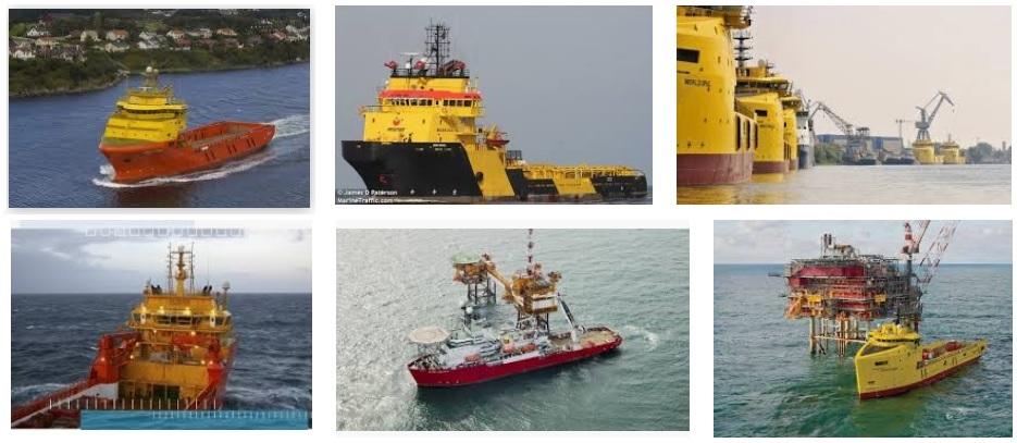 Dynamic Positioning System ship