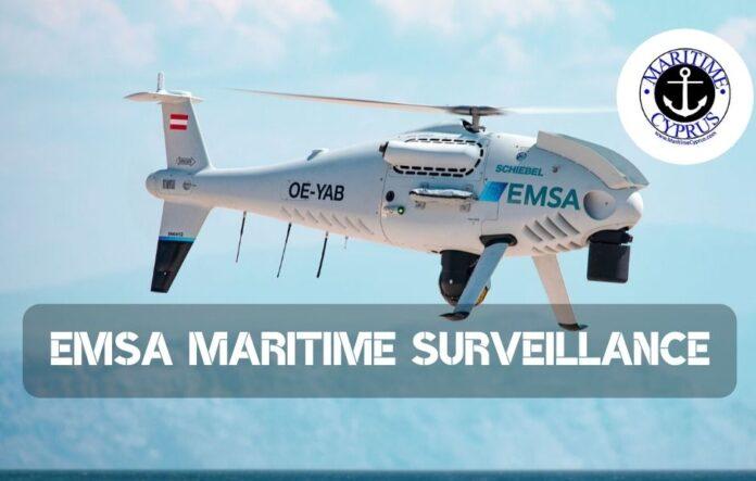 EMSA drone for maritime surveillance