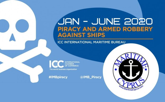 IMB piracy report Jan - Jun 2020