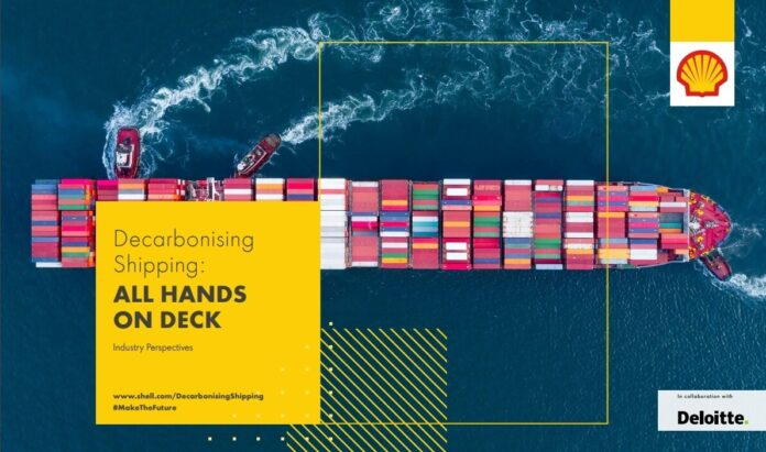 Shell report on shipping decarbonisation