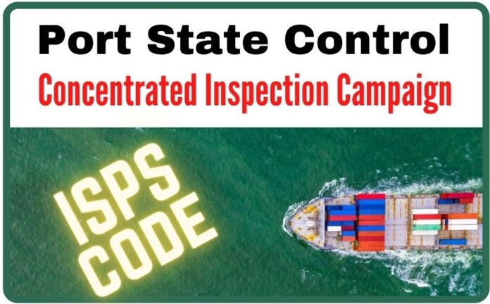 PSC CIC on ISPS code