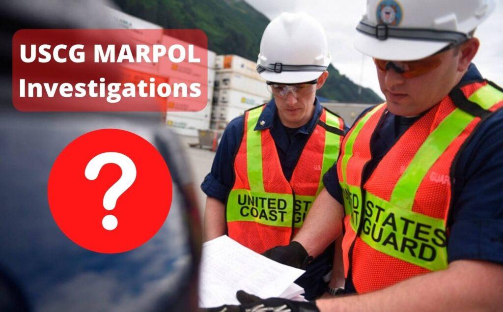USCG MARPOL investigations