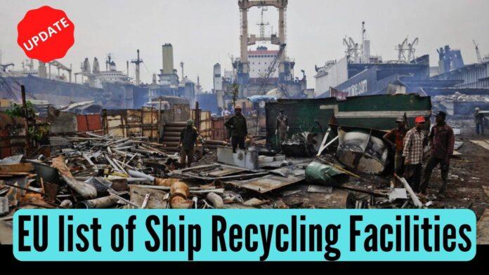 EU list of ship recycling facilities